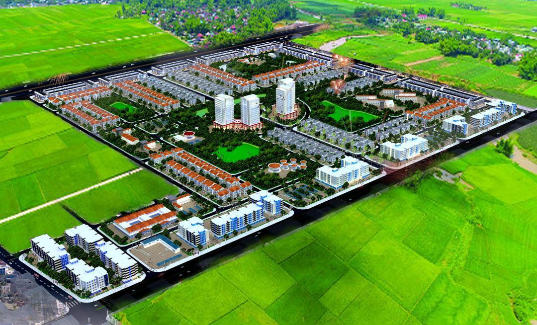 Toàn cảnh Khu đô thị mới Thanh Lâm - Đại Thịnh 2