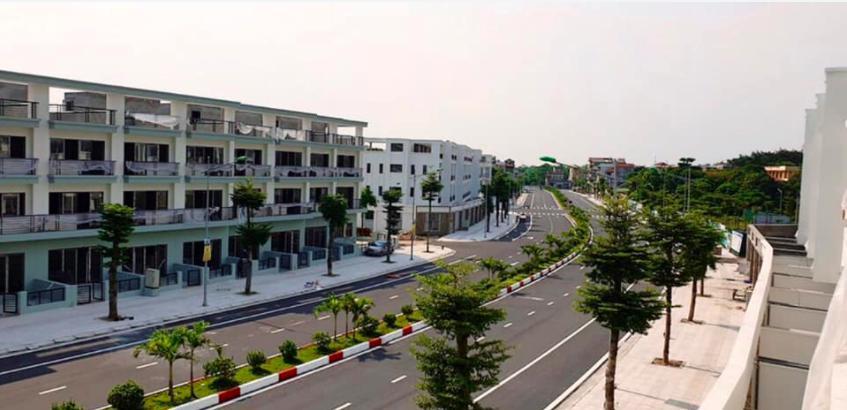 Trục đường chính HUD Sơn Tây